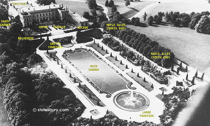 1925 Aerial View of Whitemarsh Hall