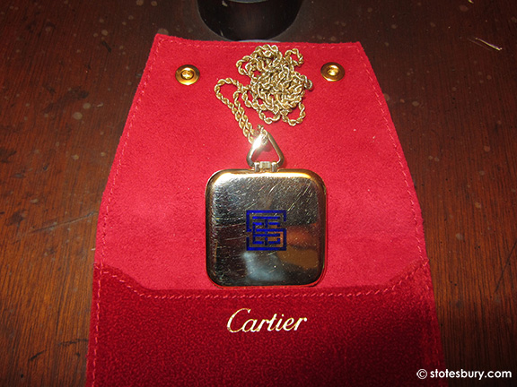 Cartier Pocket Watch