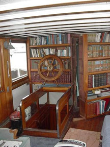 Interior of main cabin